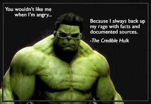 The Credible Hulk Tumblr meme