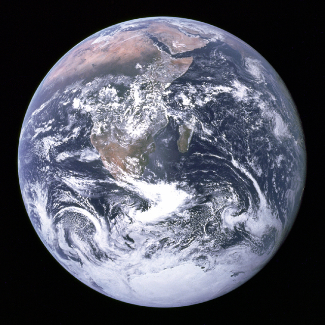 NASA image of Earth