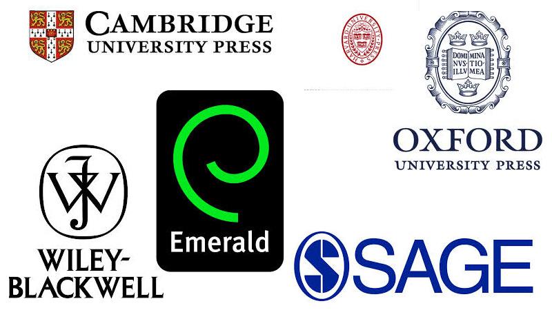 Scholarly publishers