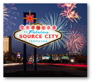 Welcome to Source City, Tropicana sign