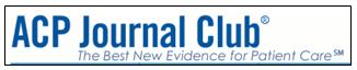 ACP Journal Club logo