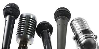 microphones for Public Relations event