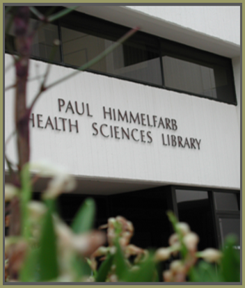 Himmelfarb Library /><br /> <strong>Location:</strong><br /> Himmelfarb Library is located on the <a href=