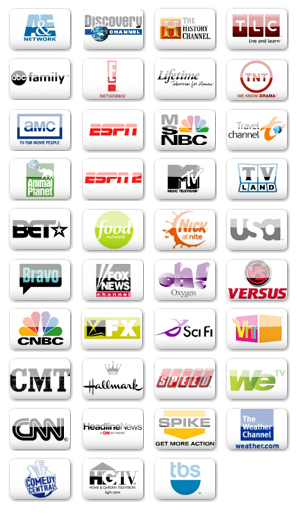 Television Network Icons