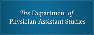 The Department of Physician Assistant Studies https://smhs.gwu.edu/physician-assistant/