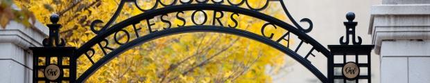 GW Professors Gate Image