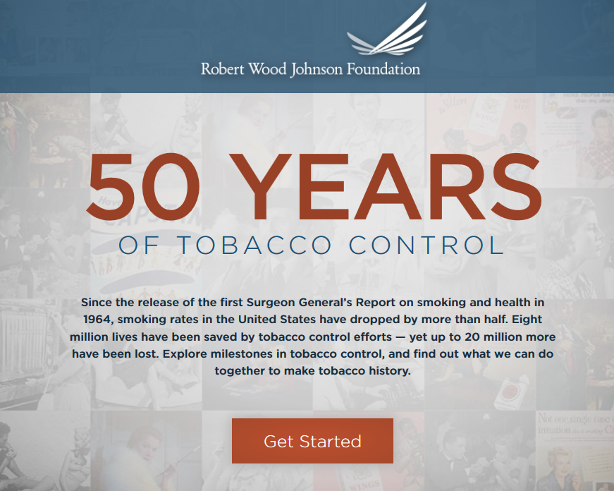50 Years of Tobacco Control Image