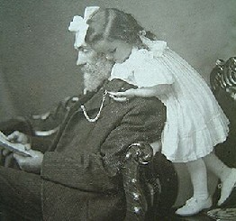 Elma Gibb wonders why it takes her grandfather so long to read a text of philosophy (c. 1900).