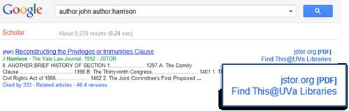Google Scholar - Find