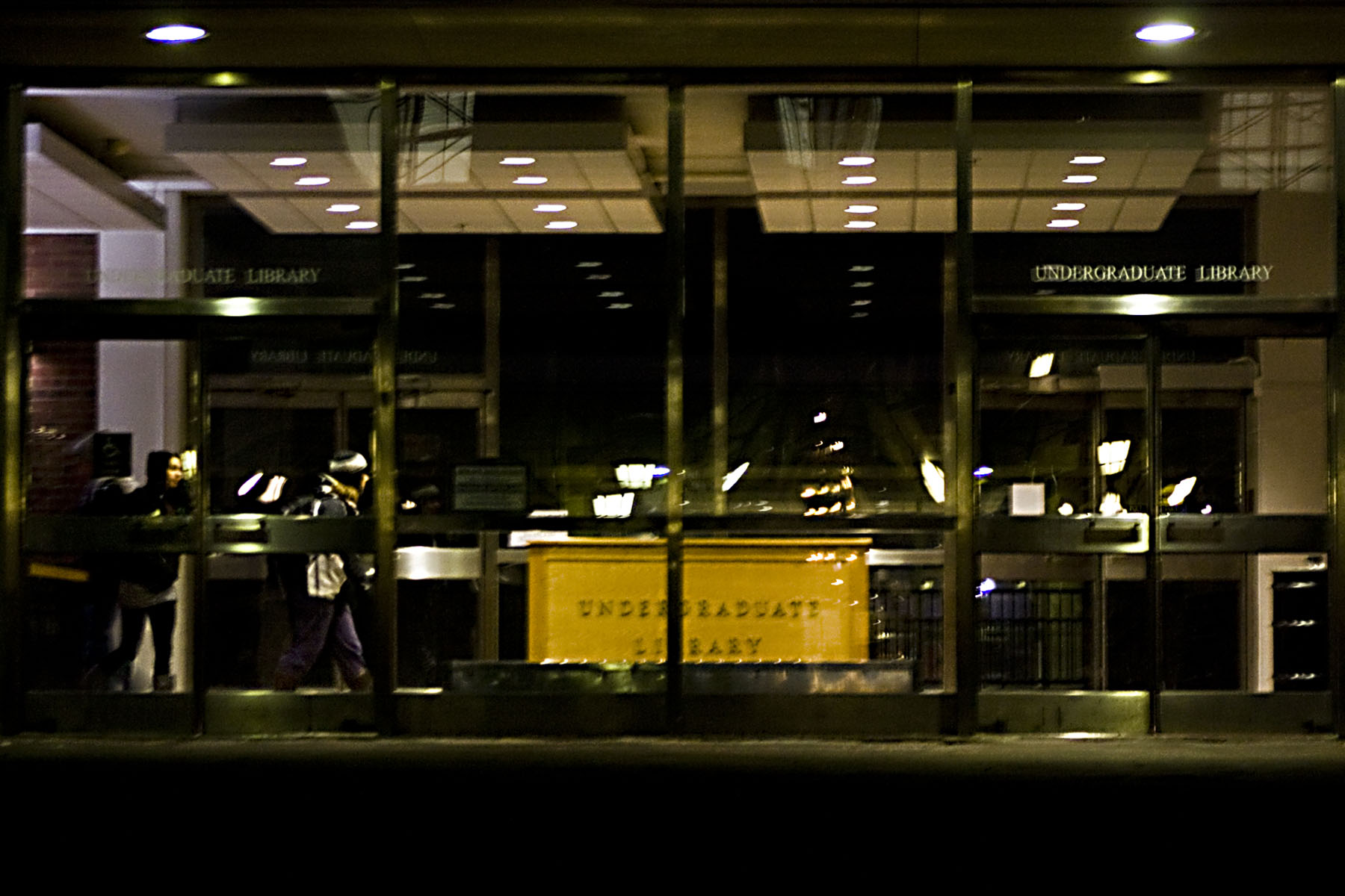 undergrad at night 2010