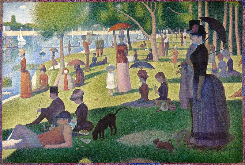 Artwork featuring Pointillism