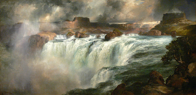 Gilcrease Museum: Shoshone Falls on the Snake River