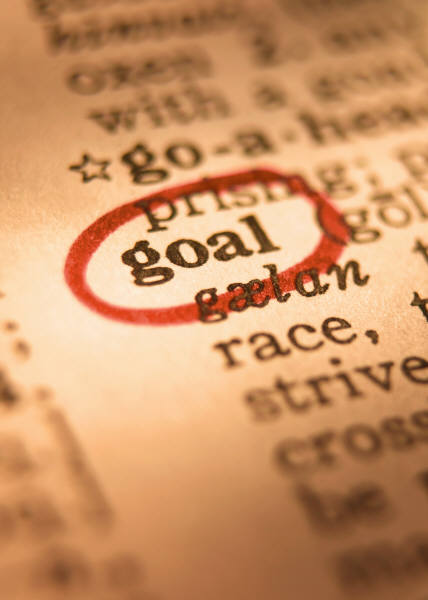 Picture of the word goal