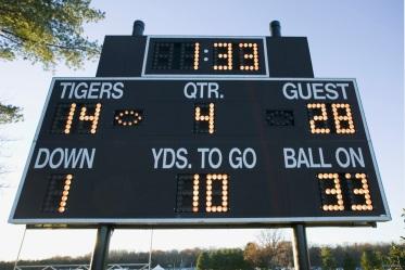 picture of a score board