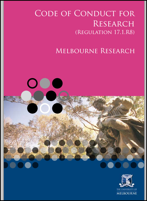 Image of Code of conduct for research brochure