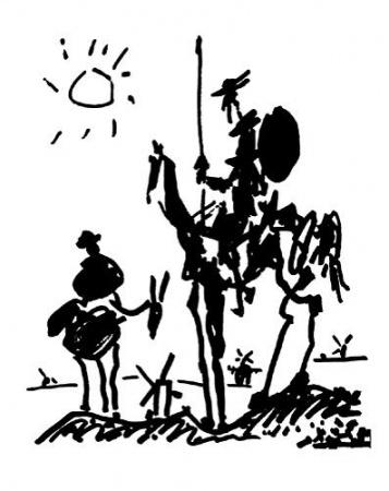 Picasso's Cervantes