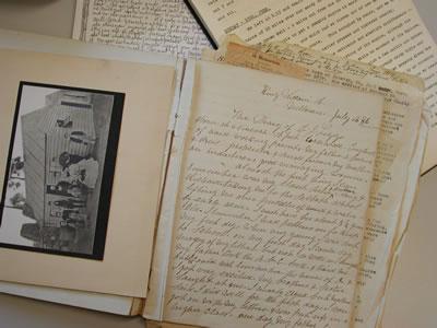 Diary of E.J. Leggo