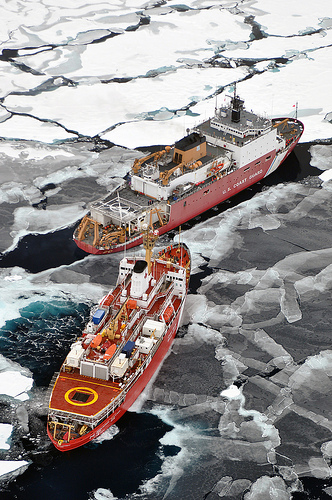Bow Thrusters - Arctic Geophysical Study