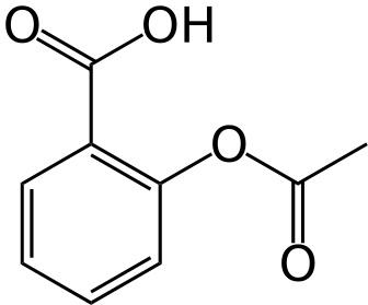Aspirin Molecular Model