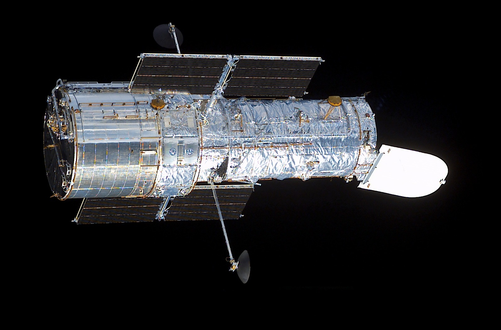 Hubble Space Telescope after Restoration in March 2002