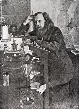 Dmitri Ivanovich Mendeleev Formulating the Periodic Law of Chemistry