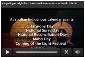 Australian Indigenous calendar of events including Harmony day, National Sorry day, National Reconciliation Day, Mabo Day, Coming of the Light festival and NAIDOC week
