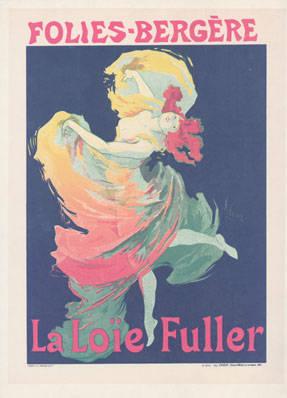 Folies-Bergère, La Loïe Fuller poster
