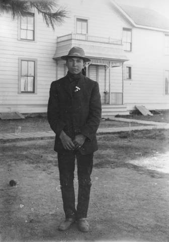 Photo of Henry Nelson, Wm., 1906 from the Frank Fuller Avery Collection, WSU Libraries' Manuscripts, Archives and Special Collections