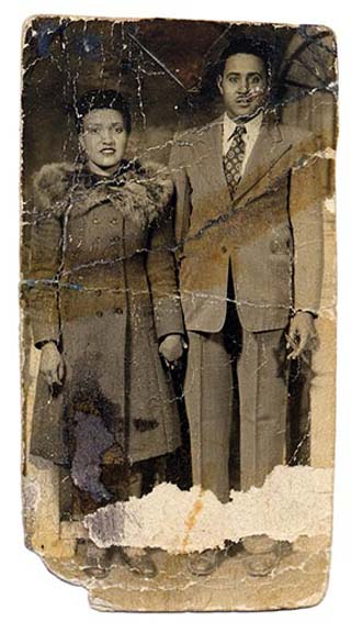 Henrietta & David Lacks -courtesy of the Lacks Family