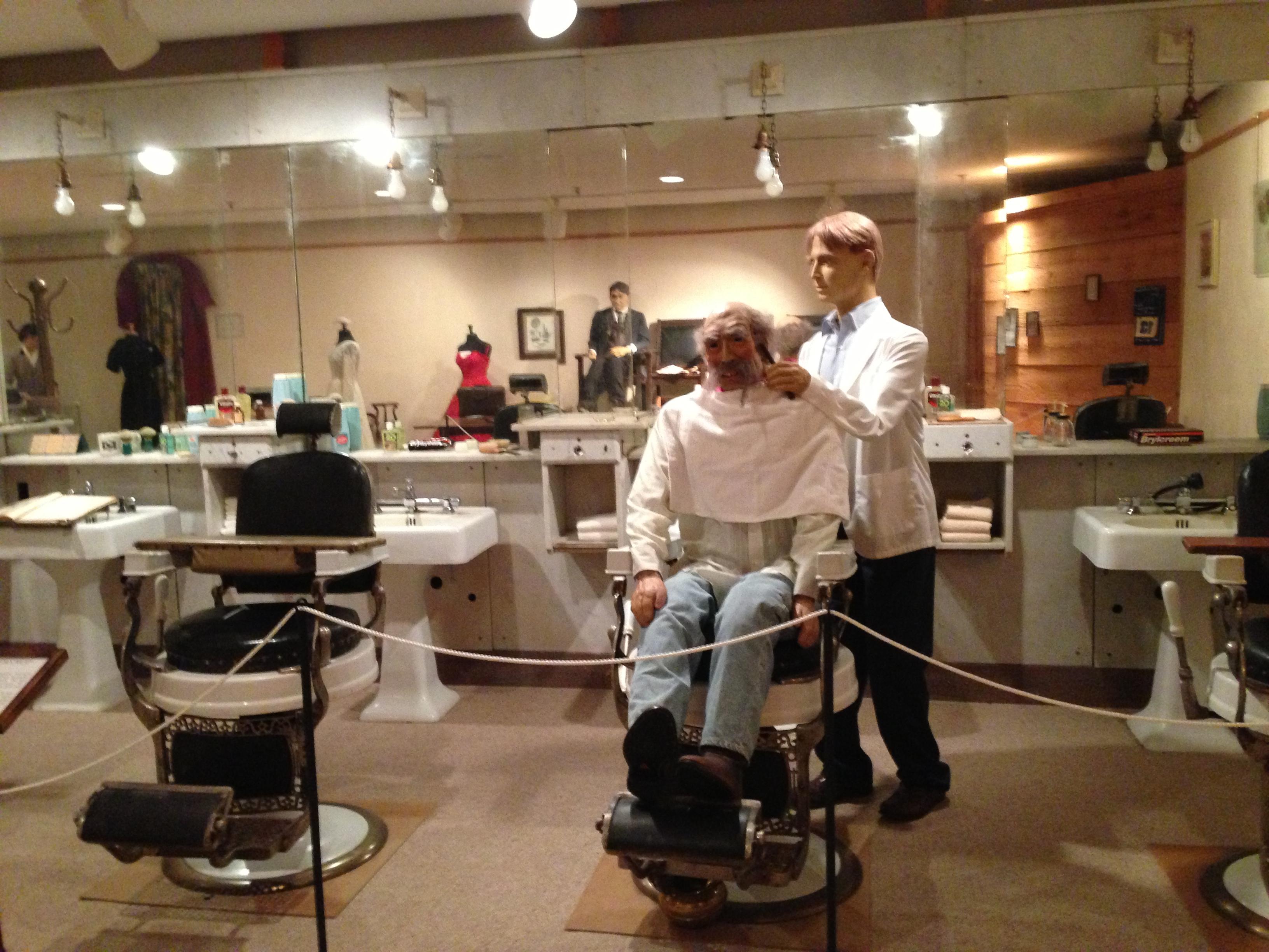 Barbershop Exhibit
