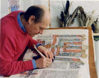 Saint John's Bible artist Donald Jackson