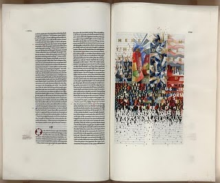 Pages from the Saint John's Bible