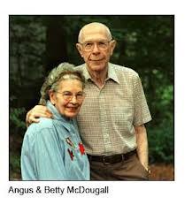 Angus and Betty McDougal
