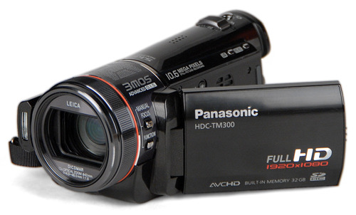 panasonic HDC-TM300 video camera