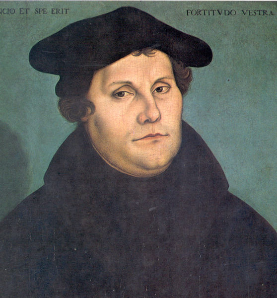 Luther in 1533 by Lucas Cranach the Elder