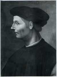 Ritratto di Niccolo Machiavelli -  Federico Zeri Foundation - from Europeana