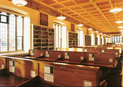 Image of the Upper Reading Room, Bodleian Old Library