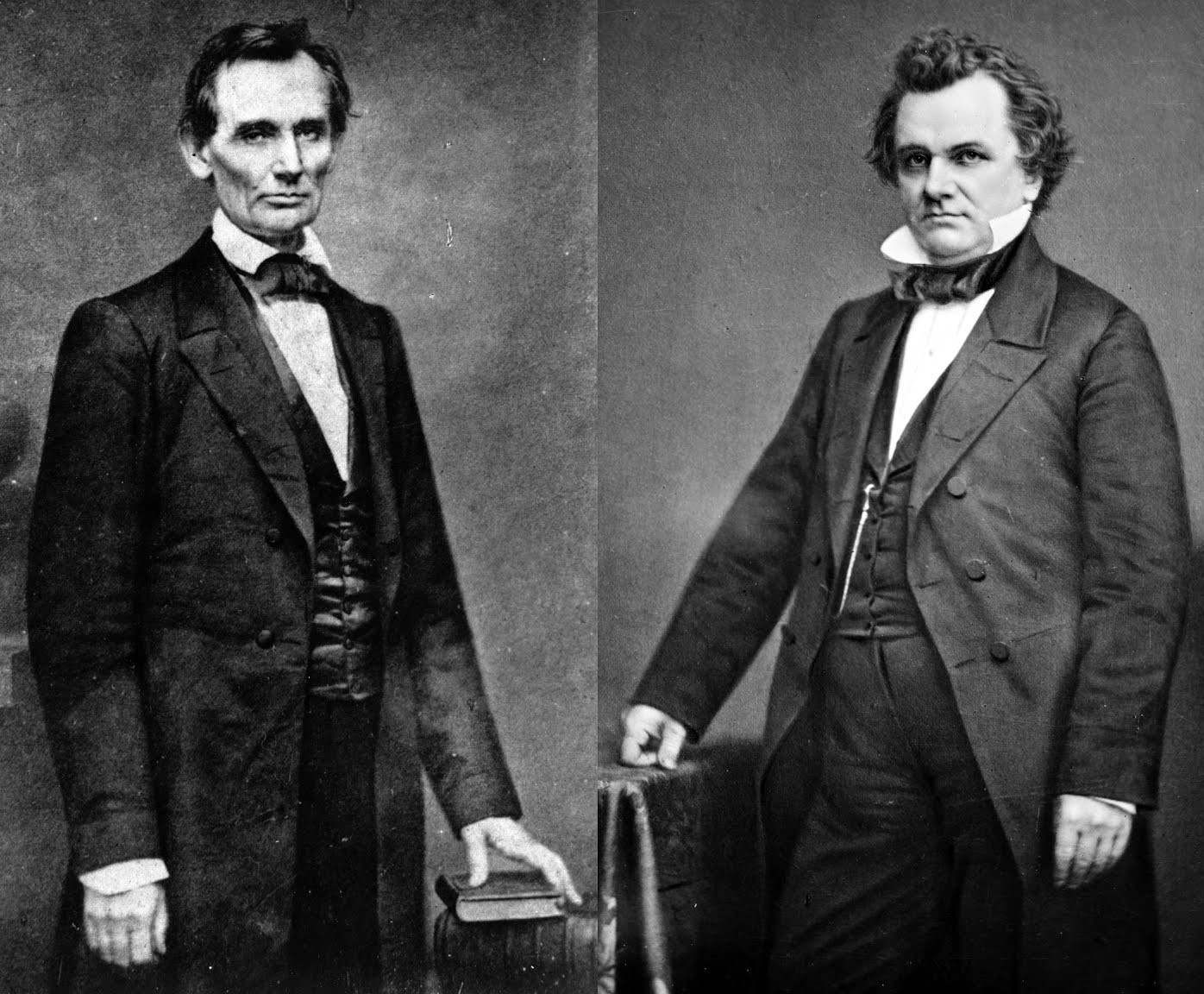 Abraham Lincoln and Stephen A. Douglas