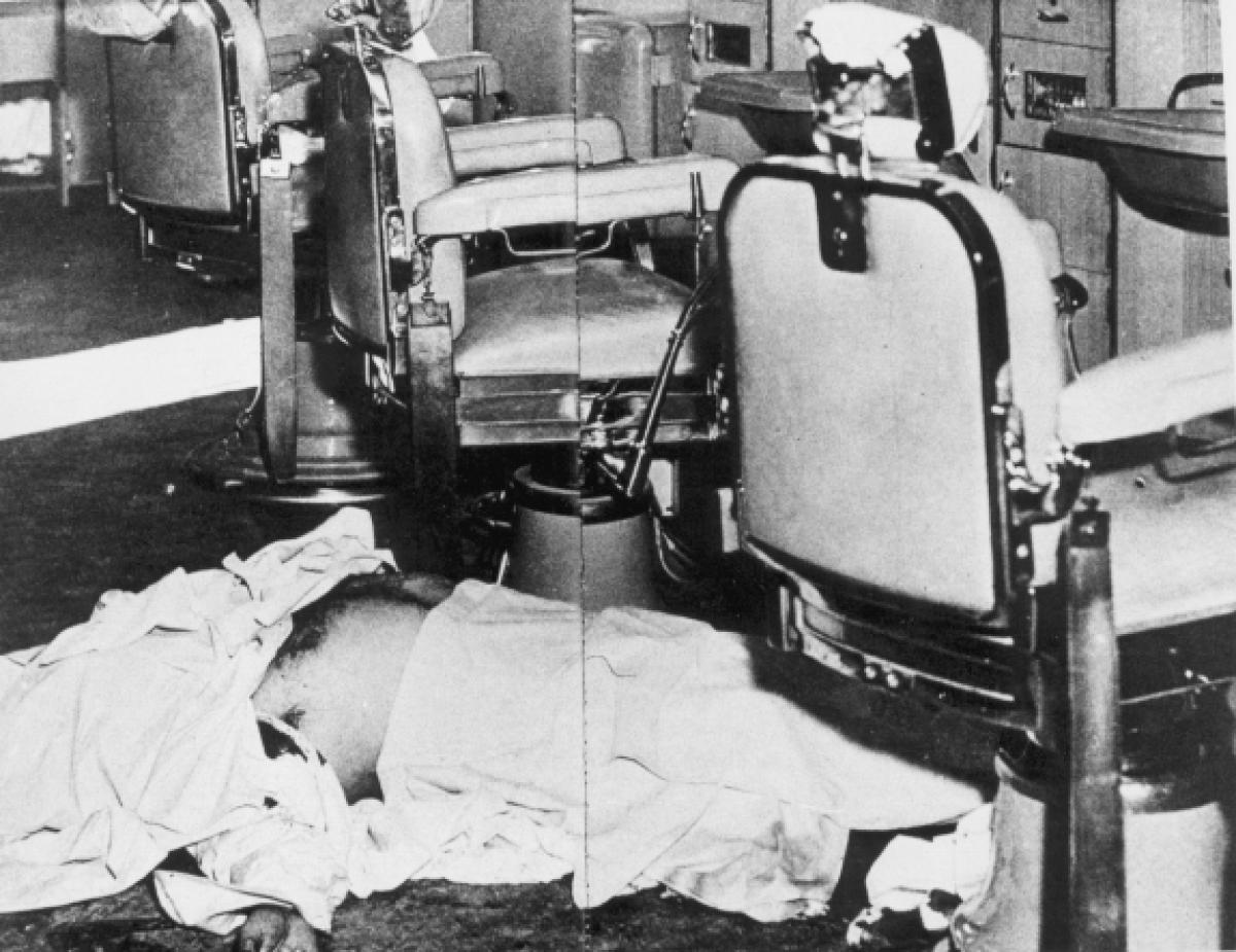 Aftermath of 1957 Hit on Albert Anastasia, One of the Heads of Murder Inc