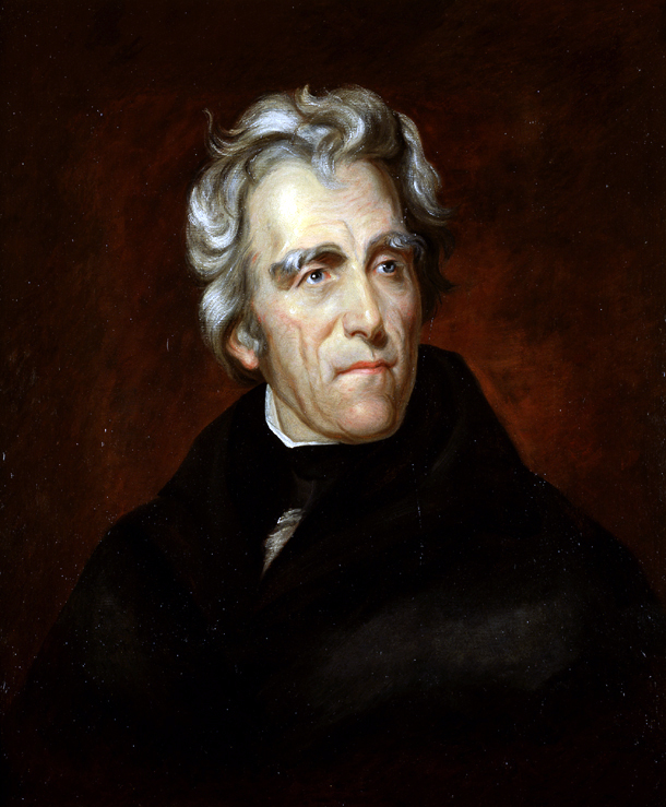 Andrew Jackson by Thomas Sully