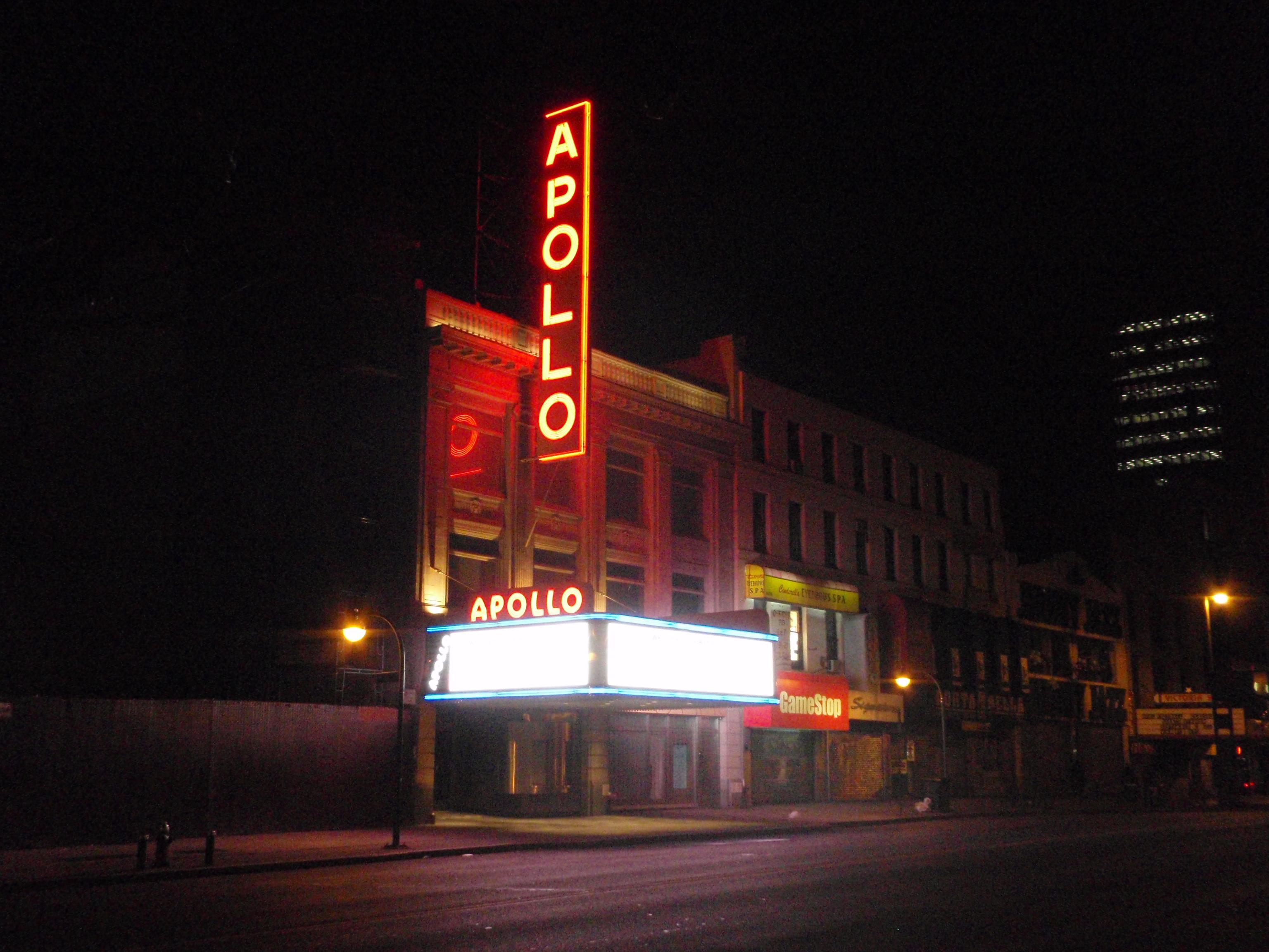 The Apollo in Harlem