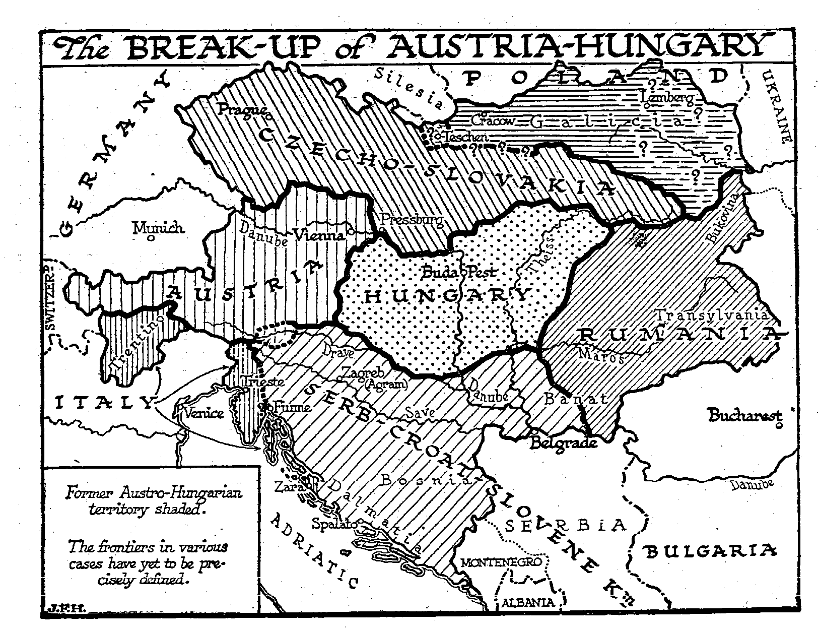 The End of Austria-Hungary