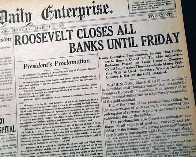 """Banking """"Holiday"""""""