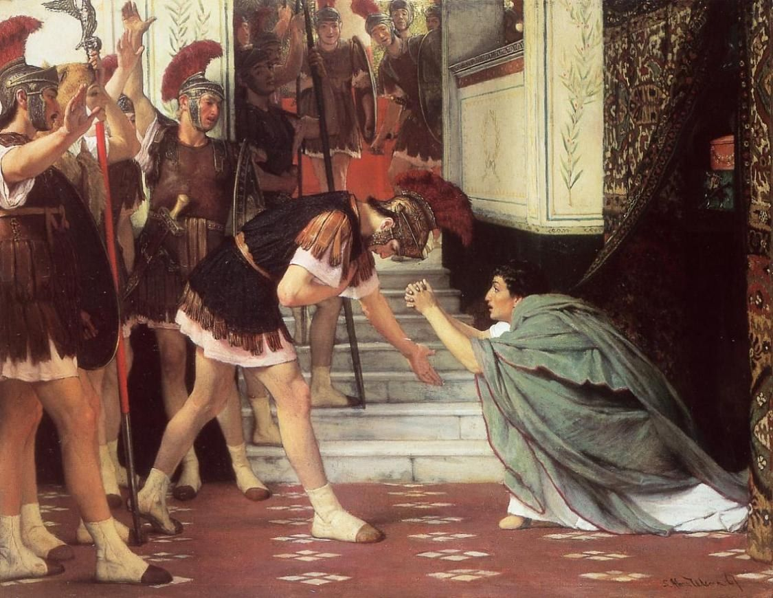 Claudius Summoned by Sir Lawrence Alma-Tadema