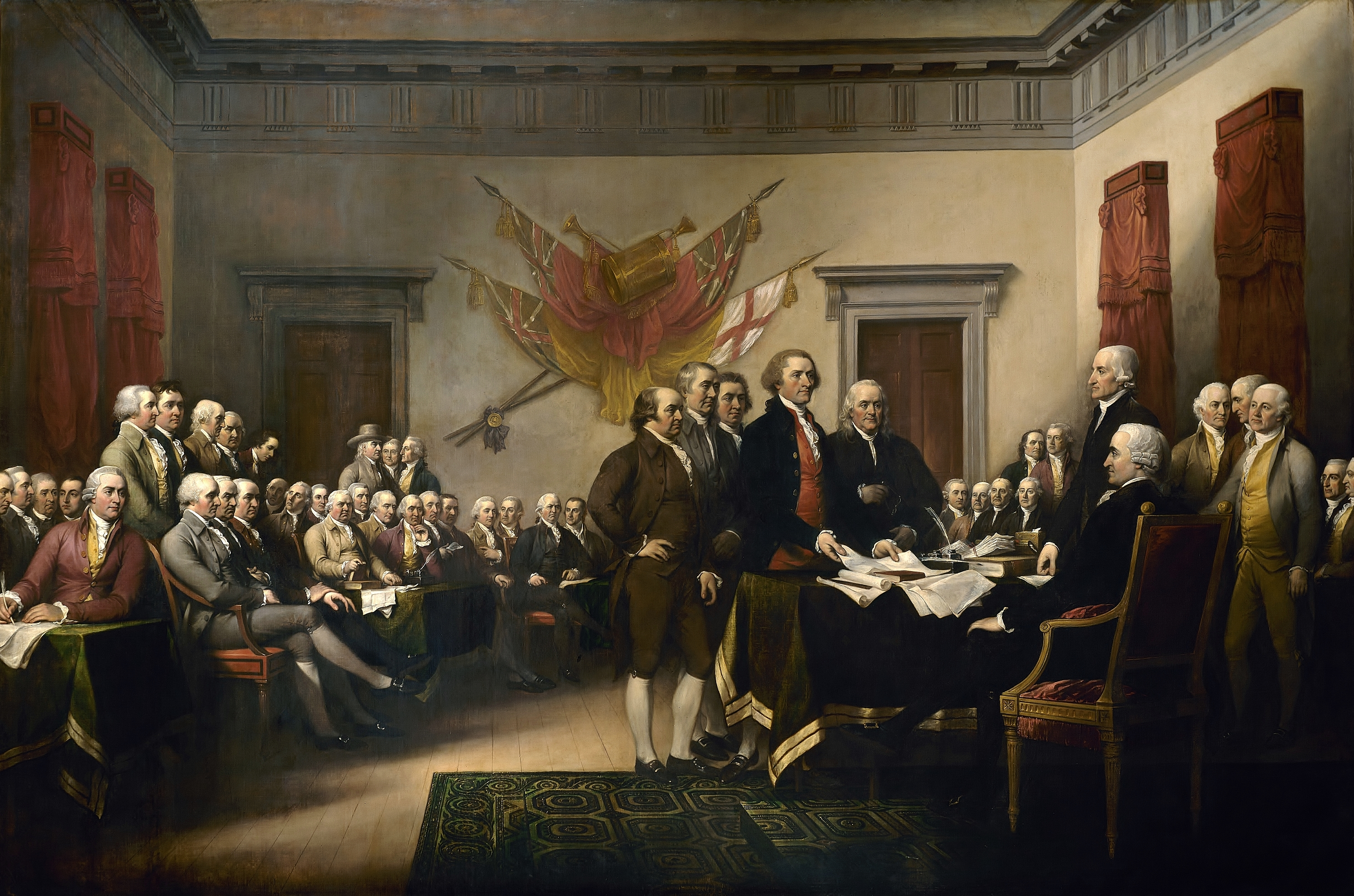 Declaration of Independence by John Trumbull