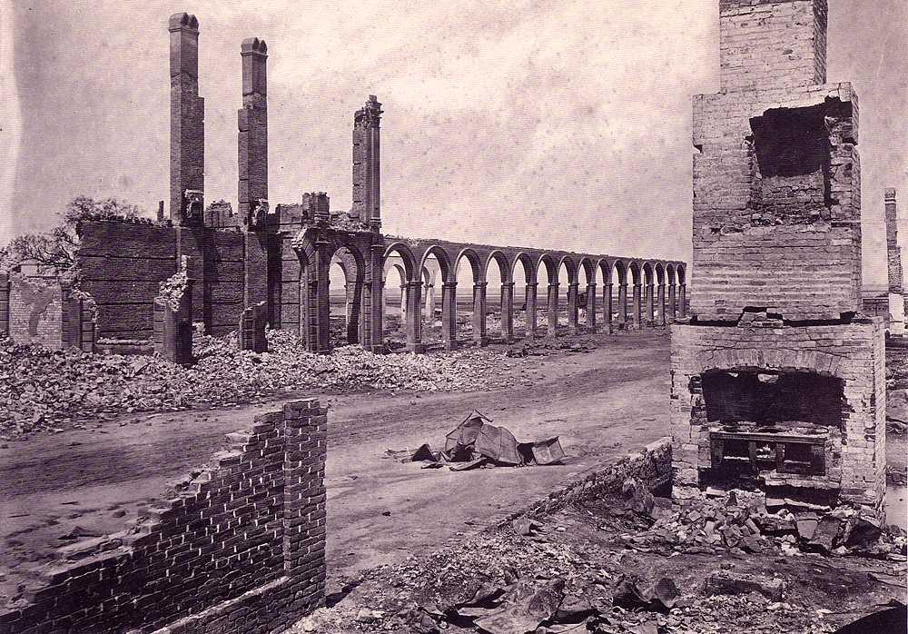Destruction of Charleston 1864