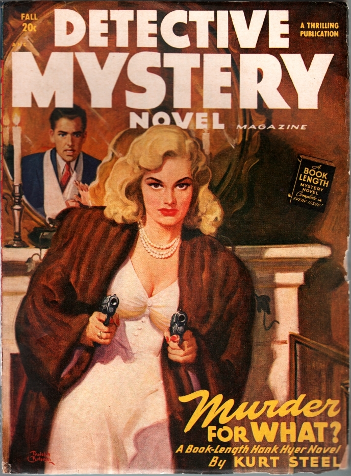 Detective Mystery Novel 1948