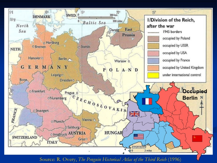 Occupation and Partition of Germany