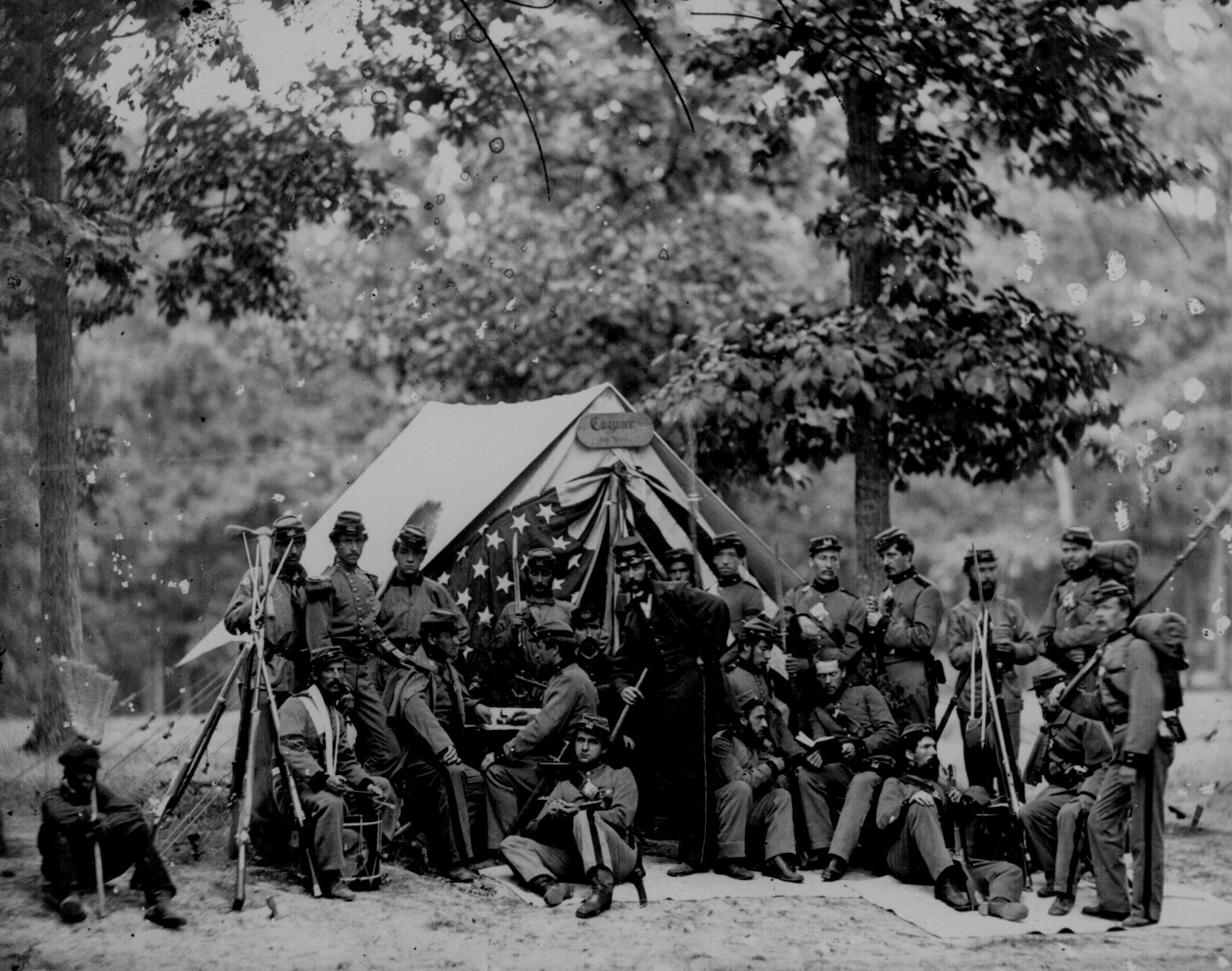 Engineers of the 8th New York State Militia 1861. No. Ill-B-499