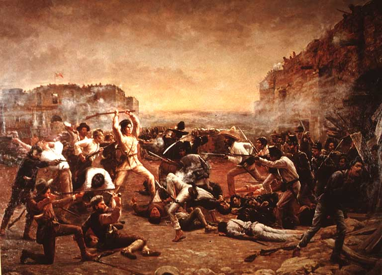 The Fall of the Alamo by Robert Jenkins Onderdonk